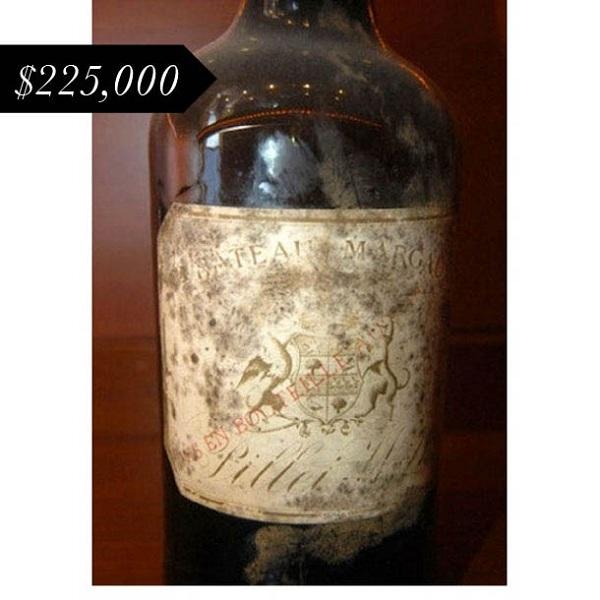 những chai rượu vang đắt nhất thế giới
